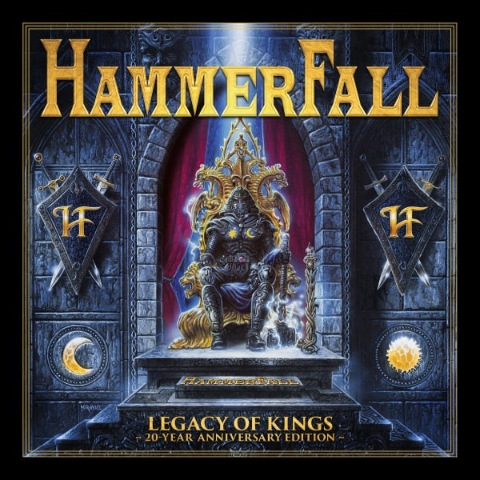 Hammerfall - Legacy of Kings [20 Year Anniversary Edition] (2018) MP3 скачать торрент