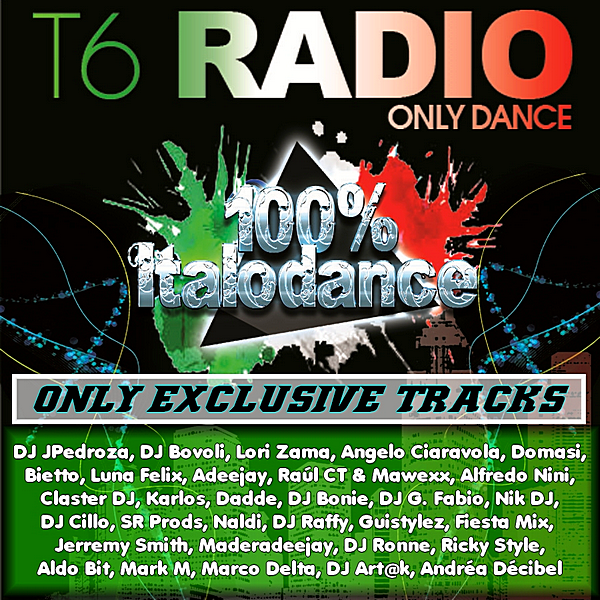 VA - T6 Radionet Presents Percent: 100% Italodance (2019) MP3 скачать торрент