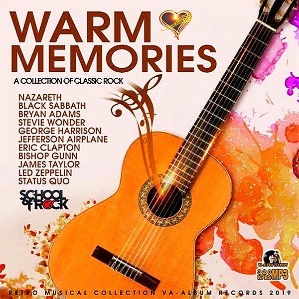 VA - Warm Memories: Collection Classic Rock (2019) MP3 скачать торрент
