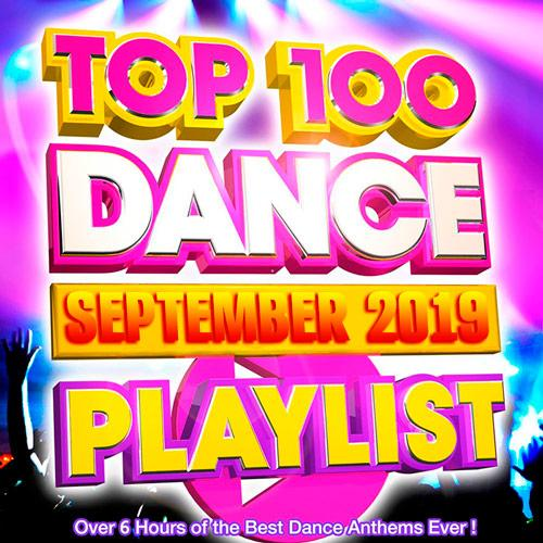 VA - Top 100 Dance Playlist September 2019 (2019) MP3 скачать торрент