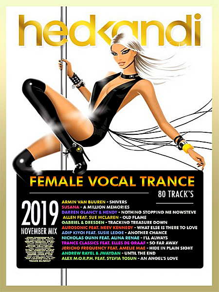 VA - Female Vocal Trance: Hedkandi Mix (2019) MP3 скачать торрент