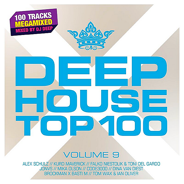 VA - Deephouse Top 100 Vol.9 [Mixed by DJ Deep] (2019) MP3 скачать торрент