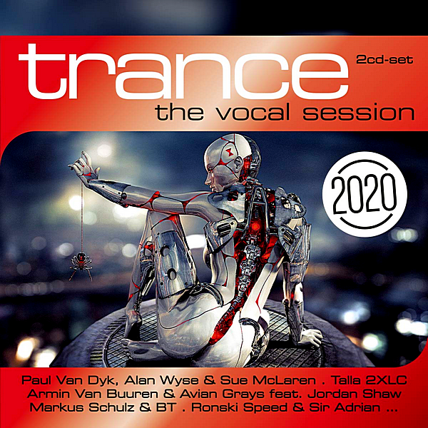 VA - Trance: The Vocal Session 2020 [2CD] (2019) MP3 скачать торрент