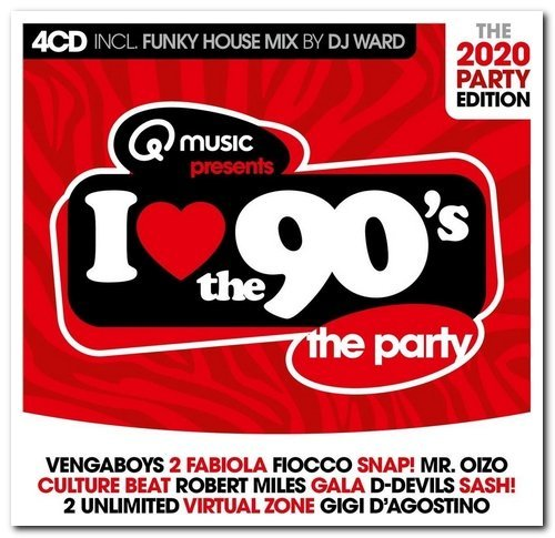 VA - I Love The 90's - The 2020 Party Edition (2020) MP3 скачать торрент